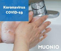 Koronavirus Covid-19 käsienpesukuva.